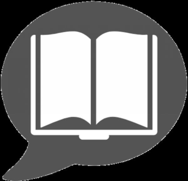 Papo Literário - logo