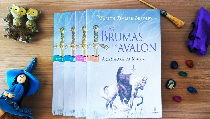 8 livros para ler no 8 de março - As Brumas de Avalon