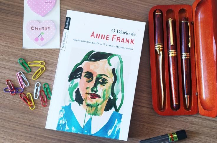 8 livros para ler no 8 de março - O Diário de Anne Frank