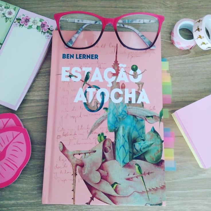 Tag Chocolates Literários - Estação Atocha