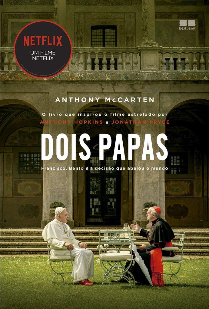 Capa do livro Dois Papas, que inspirou o filme de mesmo nome, que concorre ao Oscar 2020 de Melhor Roteiro Adaptado.