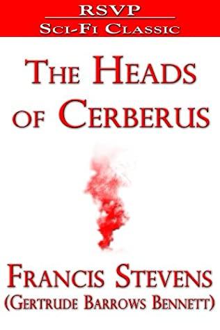 Capa do livro As Cabeças de Cerberus, de Fancis Stevens, pseudônimo de Gertrude Barrows Bennett, versão em inglês.