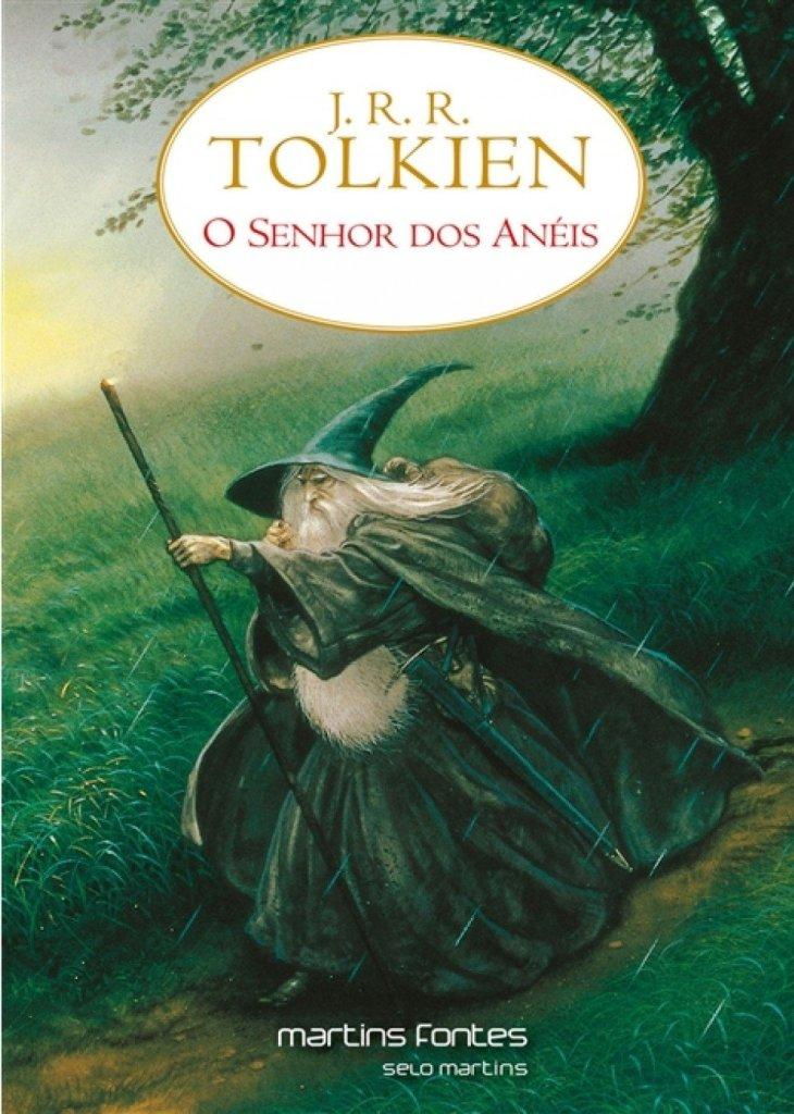 Capa do livro O Senhor dos Anéis